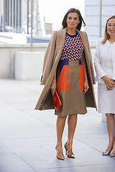 October 9, 2018 - Madrid, MadridMadrid, Spain - Queen Letizia of Spain attends Mental Health Day at Spanish Congress on October 9, 2018 in Madrid, Spain  (Credit Image: © Oscar Gonzalez/NurPhoto via ZUMA Press)