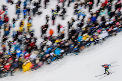 March 16, 2019 - –Stersund, Sweden - 190316 Vanessa Hinz of Germany competes in the Women's 4x6 km Relay during the IBU World Championships Biathlon on March 16, 2019 in Östersund..Photo: Petter Arvidson / BILDBYRÃ…N / kod PA / 92268 (Credit Image: © Petter Arvidson/Bildbyran via ZUMA Press)