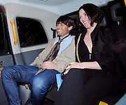 09.JULY.2009 - LONDON<br /> <br /> ALEX JAMES AND WIFE CLAIRE NEATE LEAVING THE SERPENTINE GALLERY SUMMER PARTY, HYDE PARK.<br /> <br /> BYLINE: EDBIMAGEARCHIVE.COM<br /> <br /> *THIS IMAGE IS STRICTLY FOR UK NEWSPAPERS &amp; MAGAZINES ONLY*<br /> *FOR WORLDWIDE SALES &amp; WEB USE PLEASE CONTACT EDBIMAGEARCHIVE - 0208 954 5968*