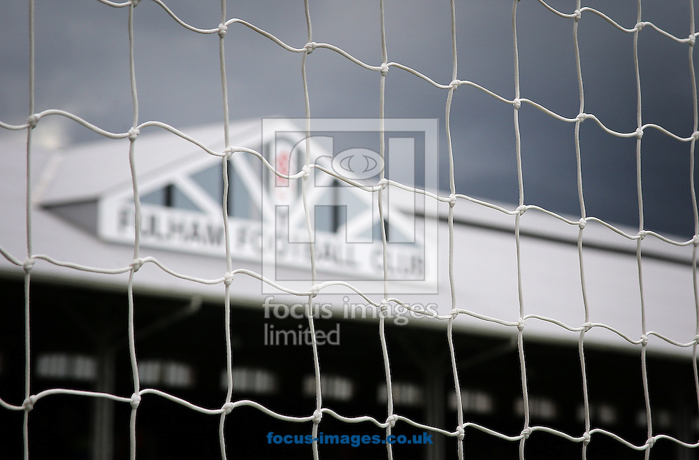 Picture by Richard Calver/Focus Images Ltd +447792 981244<br /> 05/10/2013<br /> General view of Craven Cottage, London, Home of Fulham Football Club before the Barclays Premier League match against Stoke City