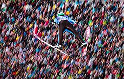 01.01.2018, Olympiaschanze, Garmisch Partenkirchen, GER, FIS Weltcup Ski Sprung, Vierschanzentournee, Garmisch Partenkirchen, Wertungsdurchgang, im Bild Ziga Jelar (SLO) // Ziga Jelar of Slovenia during the Competition Jump for the Four Hills Tournament of FIS Ski Jumping World Cup at the Olympiaschanze in Garmisch Partenkirchen, Germany on 2018/01/01. EXPA Pictures © 2018, PhotoCredit: EXPA/ JFK