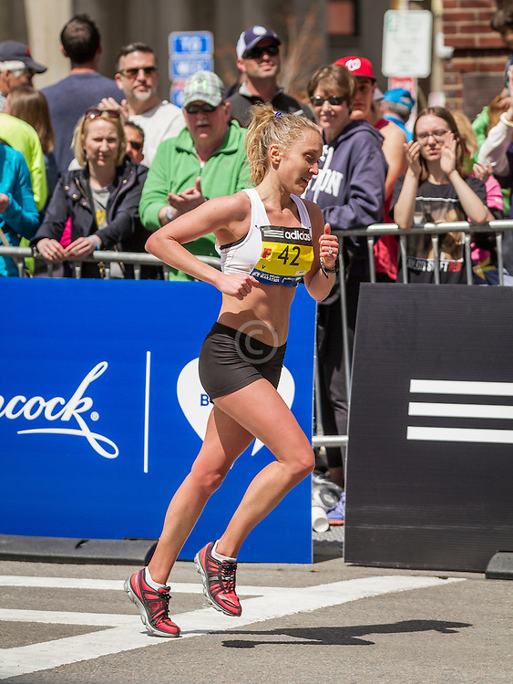 2014 Boston Marathon: Emily Mareb