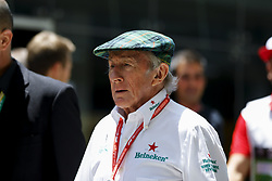 November 17, 2019, Sao Paulo, SP, Brazil: The former racing driver JACKIE STEWART during Brazilian Formula 1 Grand Prix at Interlagos racetrack. (Credit Image: © Marcelo Chello/ZUMA Wire)