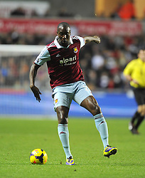 West Ham United's Carlton Cole - Photo mandatory by-line: Joe Meredith/JMP - Tel: Mobile: 07966 386802 27/10/2013 - SPORT - FOOTBALL - Liberty Stadium - Swansea - Swansea City v West Ham United - Barclays Premier League