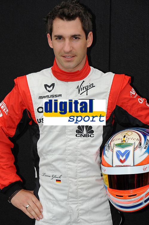 MOTORSPORT - F1 2011 - PRESENTATION DES PILOTES / DRIVERS PRESENTATION - MELBOURNE (AUS) - 25 TO 27/03/2011 - PHOTO : ERIC VARGIOLU / DPPI - <br />  GLOCK TIMO (GER) - MARUSSIA VIRGIN RACING MVR-02 - AMBIANCE PORTRAIT