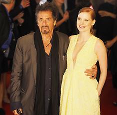 SEP 21 2014 Film Premiere Al Pacino Jessica Chastain