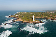 The Island from Above. Dondra Head Lighthouse. Southern most point of Sri Lanka.