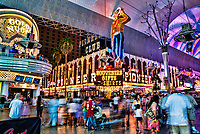 """Vegas Vic"" Neon Cowboy Sign, Fremont Street Experience"
