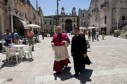 Matera, Basilicata, Italy - July 2007 - The feast of the ?Madonna della Bruna?.