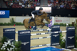 Lindelow Douglas, (SWE), Casello<br /> Longines FEI World Cup™ Jumping Final II<br /> Las Vegas 2015<br />  © Hippo Foto - Dirk Caremans<br /> 18/04/15