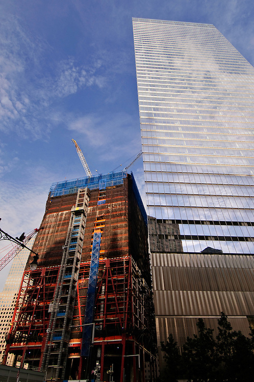 1 and 7 World Trade Center,  designed by David Childs of Skidmore, Owings, & Merrill, green buildings, Manhattan, New York City, New York, USA