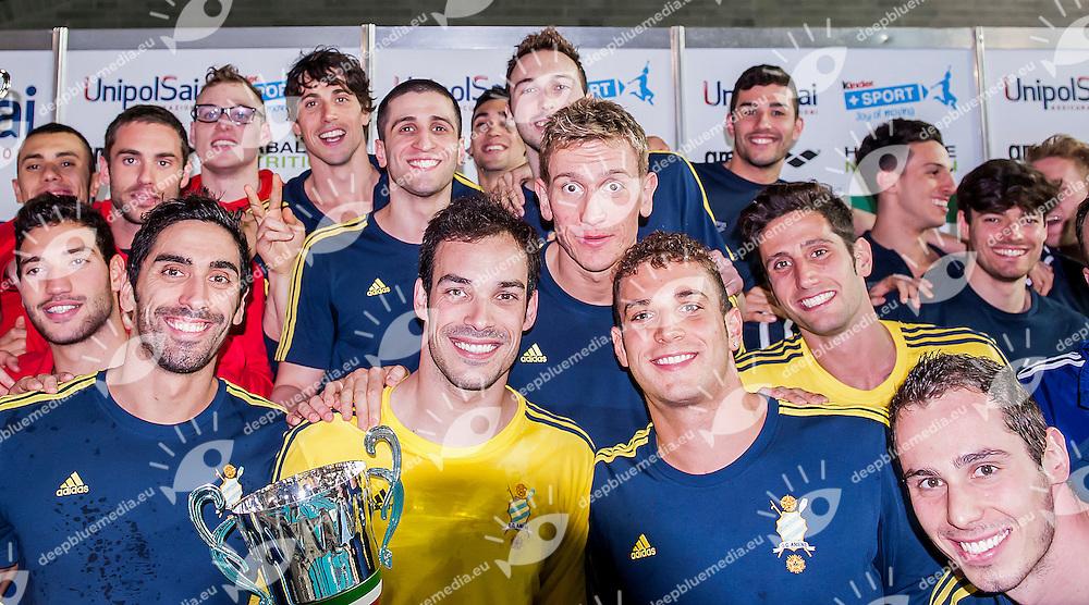 Team Maschile<br /> C.C. Aniene<br /> Stadio del Nuoto Riccione<br /> Campionato Nazionale a Squadre - Coppa Caduti di Brema<br /> Riccione Italy 24-04-2016<br /> Photo &copy; Andrea Masini/Deepbluemedia/Insidefoto