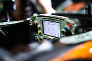 July 21-24, 2016 - Hungarian GP, Sergio Perez (MEX), Force India steering wheel