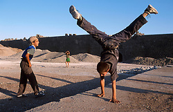 TURKEY DIYARBAKIR JUL02 - Kurdish boys play near the old city walls in Diyarbakir, the unofficial Kurdish capital on Turkish territory...jre/Photo by Jiri Rezac..© Jiri Rezac 2002..Contact: +44 (0) 7050 110 417.Mobile:  +44 (0) 7801 337 683.Office:  +44 (0) 20 8968 9635..Email:   jiri@jirirezac.com.Web:     www.jirirezac.com