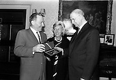 1964 Mayor of Los Angeles received by President