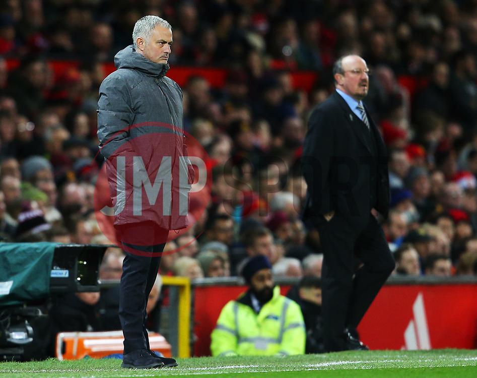 Manchester United manager Jose Mourinho and Newcastle United manager Rafa Benitez - Mandatory by-line: Matt McNulty/JMP - 18/11/2017 - FOOTBALL - Old Trafford - Manchester, England - Manchester United v Newcastle United - Premier League