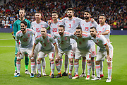 Spain team during the International friendly game football match between Spain and Argentina on march 27, 2018 at Wanda Metropolitano Stadium in Madrid, Spain - Photo Rudy / Spain ProSportsImages / DPPI / ProSportsImages / DPPI