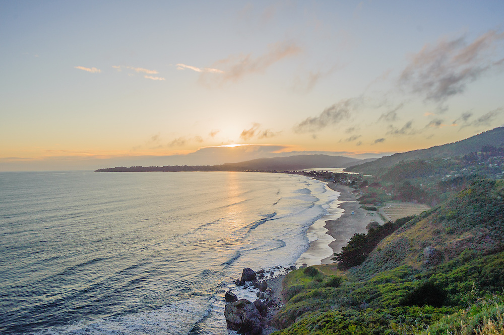 Stinson Beach in Marin County, California