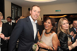 A party to promote the exclusive Puntacana Resort & Club - the Caribbean's Premier Golf & Beach Resort Destination, was held at The Groucho Club, 45 Dean Street London on 12th May 2010.<br /> <br /> Picture shows:-ALISTAIR BALFOUR and MRS FRANK RAINIERI