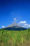 Arenal Volcano erupting, Costa Rica.<br />