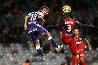 Wissam Ben Yedder - 20.12.2014 - Toulouse / Guingamp - 19eme journee de Ligue 1 <br />
