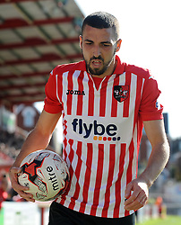 Exeter City's Liam Sercombe - Photo mandatory by-line: Harry Trump/JMP - Mobile: 07966 386802 - 18/04/15 - SPORT - FOOTBALL - Sky Bet League Two - Exeter City v Southend United - St James Park, Exeter, England.
