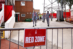 Bristol City arrive at the City Ground to take on Nottingham Forest in the Sky Bet Championship - Mandatory by-line: Robbie Stephenson/JMP - 01/07/2020 - FOOTBALL - The City Ground - Nottingham, England - Nottingham Forest v Bristol City - Sky Bet Championship
