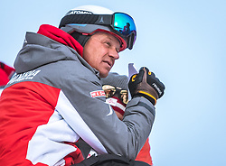 17.02.2019, Aare, SWE, FIS Weltmeisterschaften Ski Alpin, Slalom, Herren, im Bild Trainer Michael Pircher // Coach Michael Pircher during the men's Slalom of FIS Ski World Championships 2019. Aare, Sweden on 2019/02/17. EXPA Pictures © 2019, PhotoCredit: EXPA/ Dominik Angerer