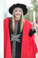 27/02/2014 XX job  Nikita Burke from Baal Co. Mayo who got a Phd in Physiology  from NUIG. Photo:Andrew Downes