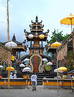 A scene of the beautiful Agong Temple, Bali, Indonesia.