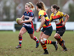 Megan Jones of Bristol Ladies - Rogan Thomson/JMP - 15/01/2017 - RUGBY UNION - Cleve RFC - Bristol, England - Bristol Ladies Rugby v Richmond WRFC - RFU Women's Premiership.