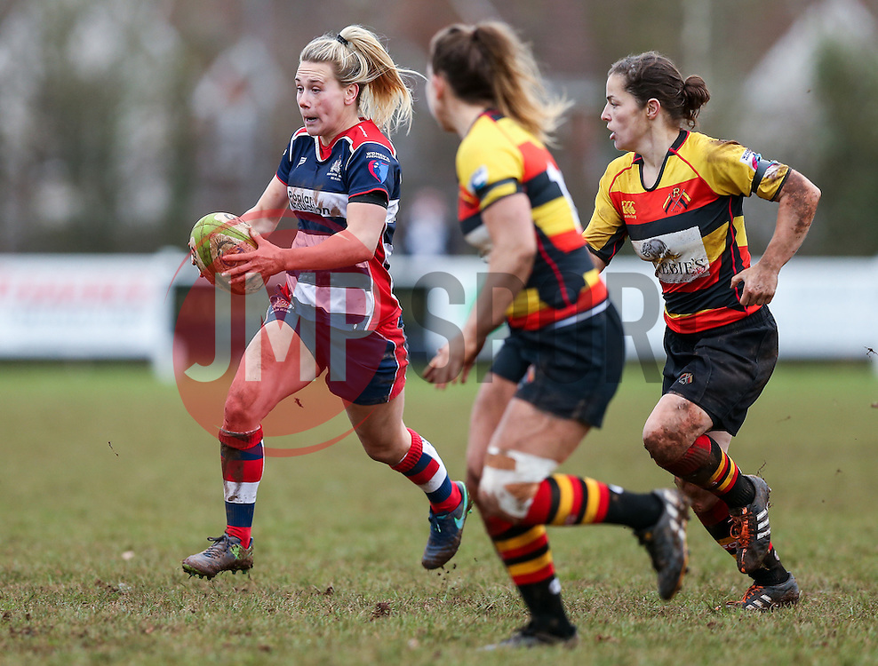 Megan Jones of Bristol Ladies - Rogan Thomson/JMP - 15/01/2017 - RUGBY UNION - Cleve RFC - Bristol, England - Bristol Ladies Rugby v Richmond WRFC - RFU Women's Premiership.