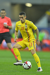 November 14, 2017 - Bucharest, Romania - Nicolae Stanciu (Rom) during International Friendly match between Romania and Netherlands at National Arena Stadium in Bucharest, Romania, on 14 november 2017. (Credit Image: © Alex Nicodim/NurPhoto via ZUMA Press)