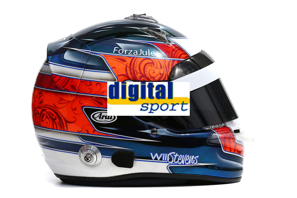 STEVENS will (gbr)) - manor grand prix - ambiance casque helmet during 2015 Formula 1 championship at Melbourne, Australia Grand Prix, from March 13th to 15th. Photo DPPI.