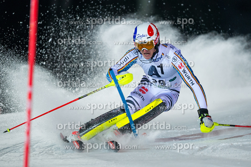 Linus Strasser (GER) during the 7th Mens' Slalom of Audi FIS Ski World Cup 2016/17, on January 24, 2017 at the Planai in Schladming, Austria. Photo by Martin Metelko / Sportida