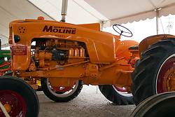 "01 August 2014:   McLean County Fair.  1958 Minneapolis Moline ""5 Star"" at the antique tractor display."