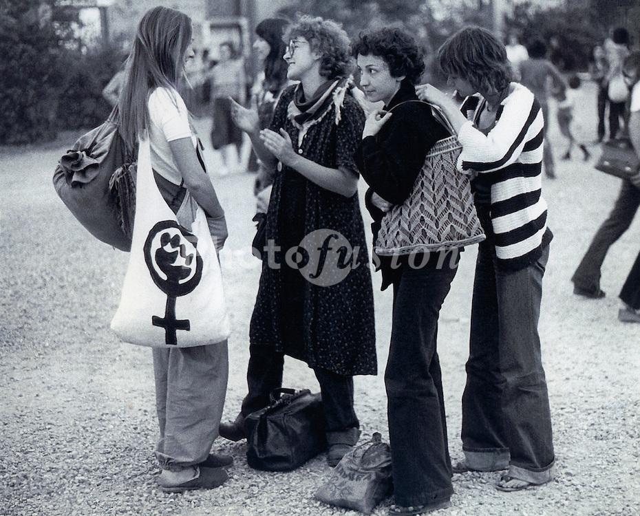 Socialist feminist Conference; Paris; 1977