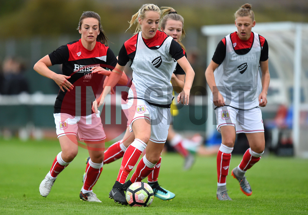 Millie Turner of Bristol City Women warms-up ahead of WSL1 game against Yeovil Town Ladies - Mandatory by-line: Paul Knight/JMP - 30/09/2017 - FOOTBALL - Stoke Gifford Stadium - Bristol, England - Bristol City Women v Yeovil Town Ladies - FA Women's Super League 1