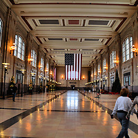 North Waiting Room of Kansas City Union Station in Kansas City, Missouri<br />