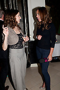 LAURA MOODY; EVIE BRODIE, The opening night of Broken Glass at the Vaudeville Theatre. Followed by  the after show party is at One Aldwych. London. 16 September 2011. <br />  , -DO NOT ARCHIVE-© Copyright Photograph by Dafydd Jones. 248 Clapham Rd. London SW9 0PZ. Tel 0207 820 0771. www.dafjones.com.