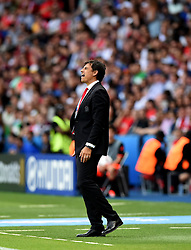 Wales Manager Chris Coleman reacts  - Mandatory by-line: Joe Meredith/JMP - 25/06/2016 - FOOTBALL - Parc des Princes - Paris, France - Wales v Northern Ireland - UEFA European Championship Round of 16