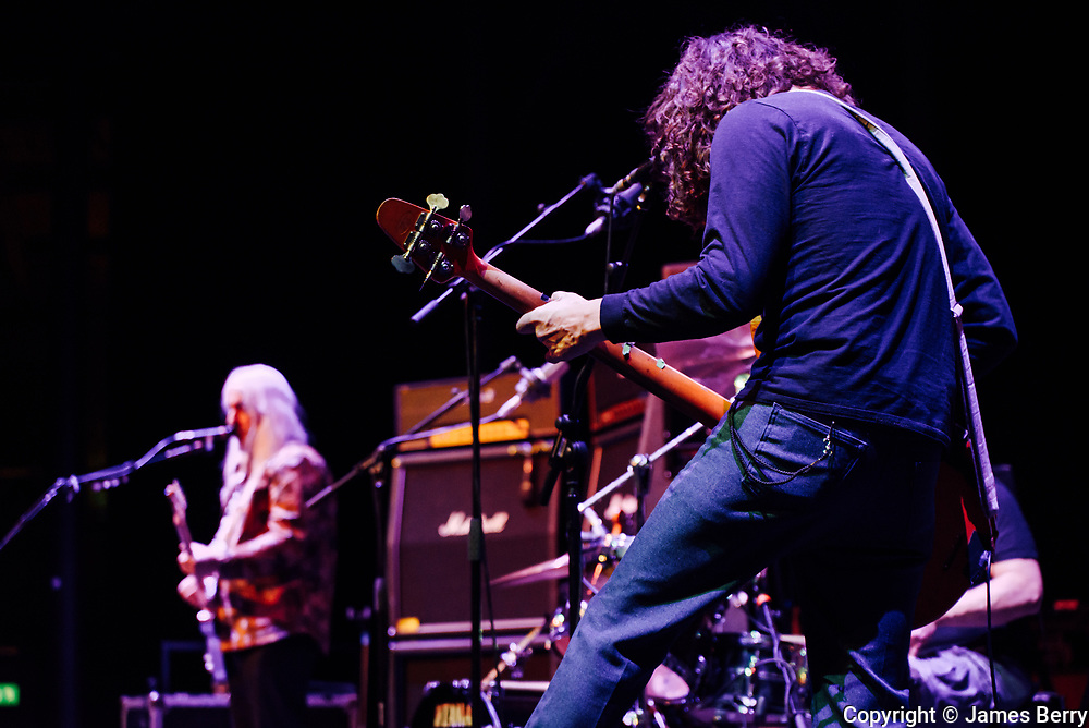 Dinosaur Jr. perform live at the Roundhouse, London, on Friday 23 March 2018.
