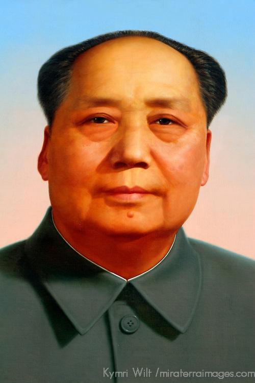 Asia, China, Beijing. Chairman Mao.