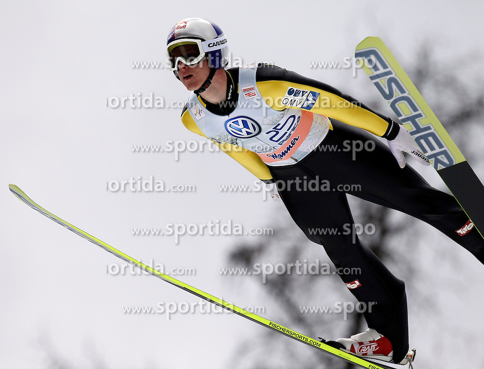 18.03.2012, Planica, Kranjska Gora, SLO, FIS Ski Sprung Weltcup, Einzel Skifliegen, im Bild Thomas Morgenstern (AUT),  during the FIS Skijumping Worldcup Individual Flying Hill, at Planica, Kranjska Gora, Slovenia on 2012/03/18. EXPA © 2012, PhotoCredit: EXPA/ Oskar Hoeher.