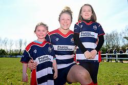 Mascots - Mandatory by-line: Dougie Allward/JMP - 26/03/2017 - RUGBY - Cleve RFC - Bristol, England - Bristol Ladies v Wasps Ladies - RFU Women's Premiership