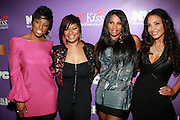 "l to r: Jacque Reid, Kali ""Kittie"" Troy, Sandra "" Pep"" Denton and Joumann Kidd at the Celebration for the Finale episode of the VH1 hit reality show ' Let's talk about Pep held at the Comix Club on March 1, 2010 in New York City."