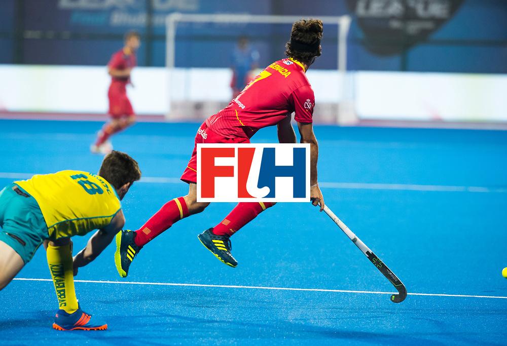 BHUBANESWAR -  Pau Quemada (Esp)  .  Hockey World League finals , Quarter Finals . Spanje-Australie (1-4)  COPYRIGHT KOEN SUYK