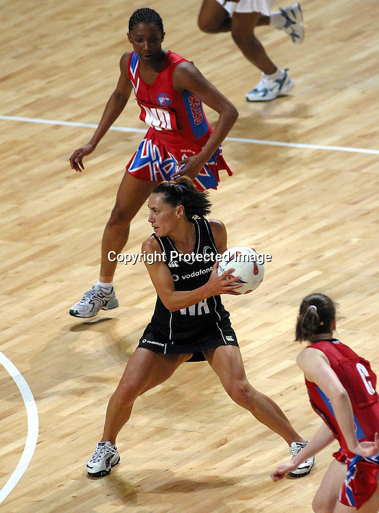 24th February 2003, Manchester Evening News Arena, Manchester, England, UK. New Zealand Silver Ferns Netball Tour, New Zealand v England, 1st test.<br />