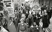 Protestors, Anti Clause 28 demonstration, Manchester, 1988