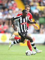 Genaro Snijders of Notts County (L) and Chris Cohen of Nottingham Forest in action - Mandatory by-line: Jack Phillips/JMP - 23/07/2016 - FOOTBALL - Meadow Lane Stadium - Nottingham, England - Notts County v Nottingham Forest - Mike Edwards Testimonial Pre-Season Friendly